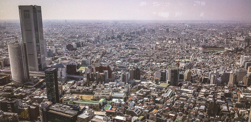 Currently closed: View from the Metropolitan Government Building. Photo: Ingrid