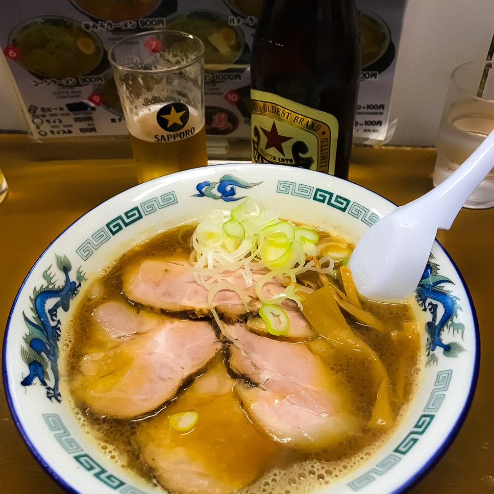 Hearty Ramen in Sapporo. Photo: Ingrid