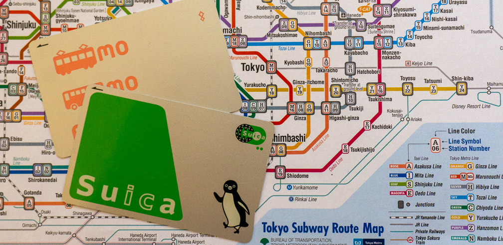 "Avoid: New ""Welcome"" Suica in Tokyo"