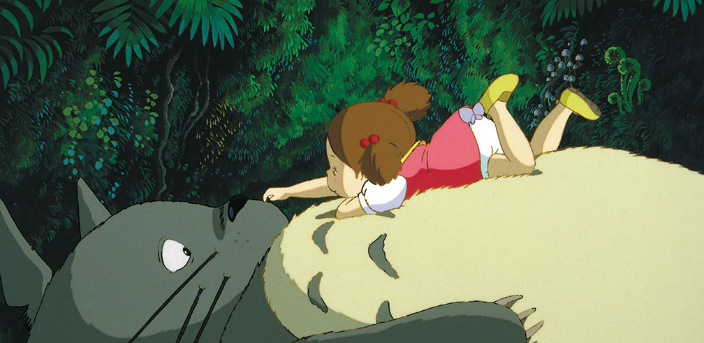 Scene from 'My Neighbor Totoro'. Image: Studio Ghibli