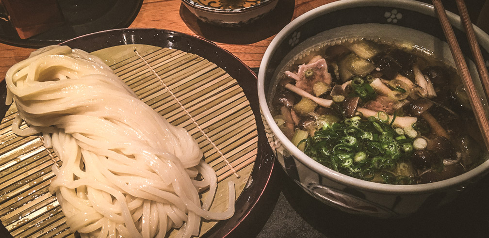 Udon to dip. Photo: Daniel